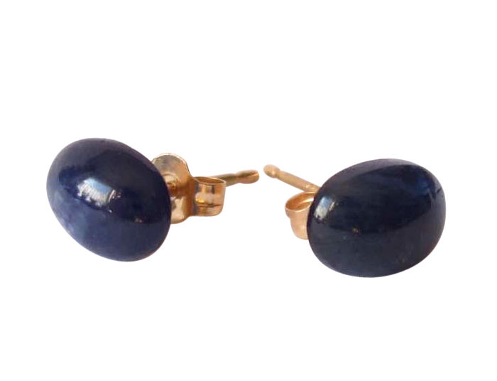 Sapphire Earrings in 14k gold